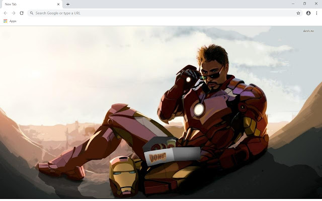 Iron Man Wallpapers and New Tab