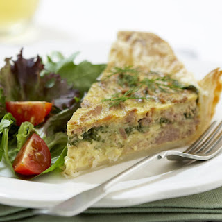 Tuna and Spinach Quiche