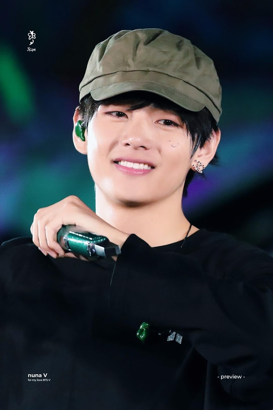 bts v smiley