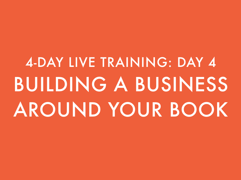 Building a Business Around Your Book