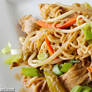 Easy Chicken Chow Mein.