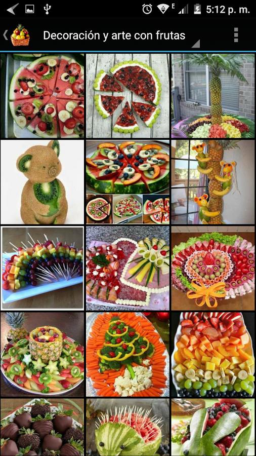 Decoraci n y arte con frutas android apps on google play - Arte y decoracion ...