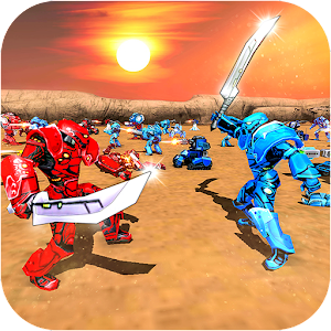 Future Robot Battle Simulator Futuristic Robot 1.8 by Gamtertainment logo