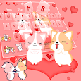 Corky Gorky Heart Keyboard icon