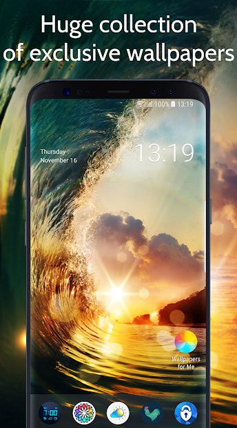 Wallpapers & Backgrounds for Me Android App Screenshot