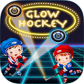 Glow Hockey 2 Player HD icon
