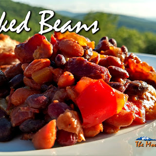 Smoky Pineapple Baked Beans