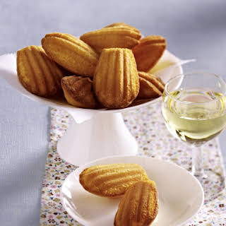 Apricot and Cardamom Madeleines.