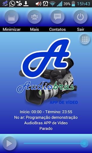 AudioBras - APP de Vídeo