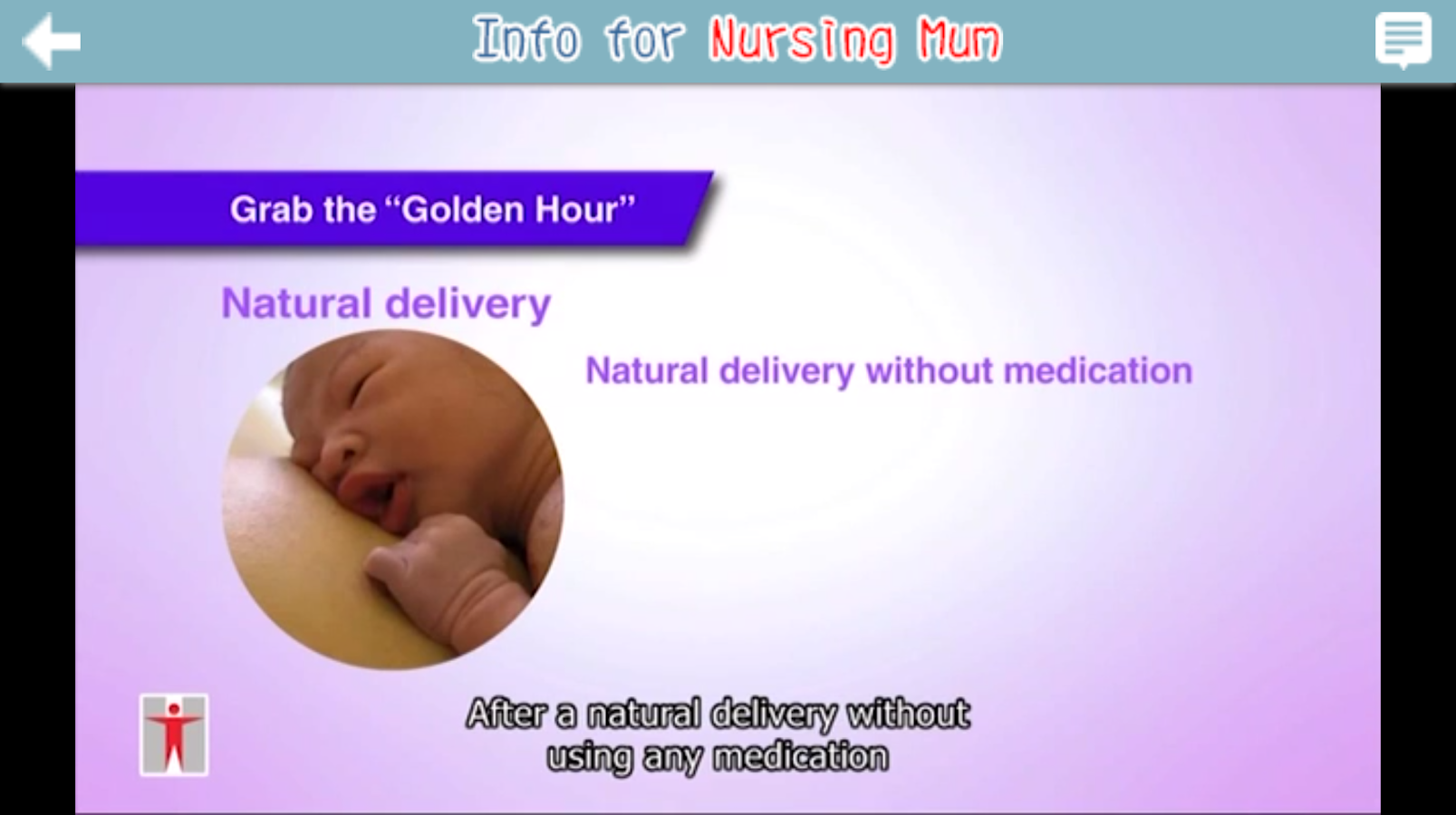Info for Nursing Mum- screenshot