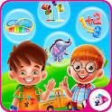 Kids Educational Games : Music Instruments & Math icon