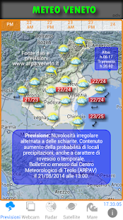 METEO VENETO Screenshot