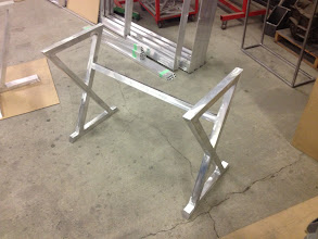 Photo: Base for computer table