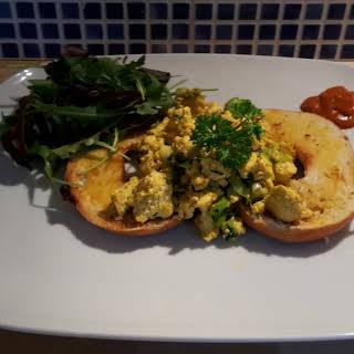 Vegan Scrambled Eggs.