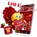 Valentine Red Launcher Theme icon