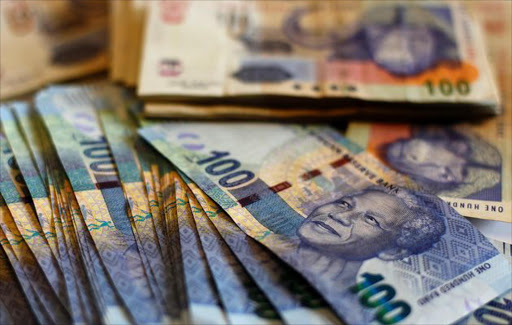 South African rands. File picture