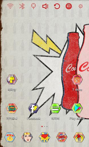 Pop Art Coke Theme Special