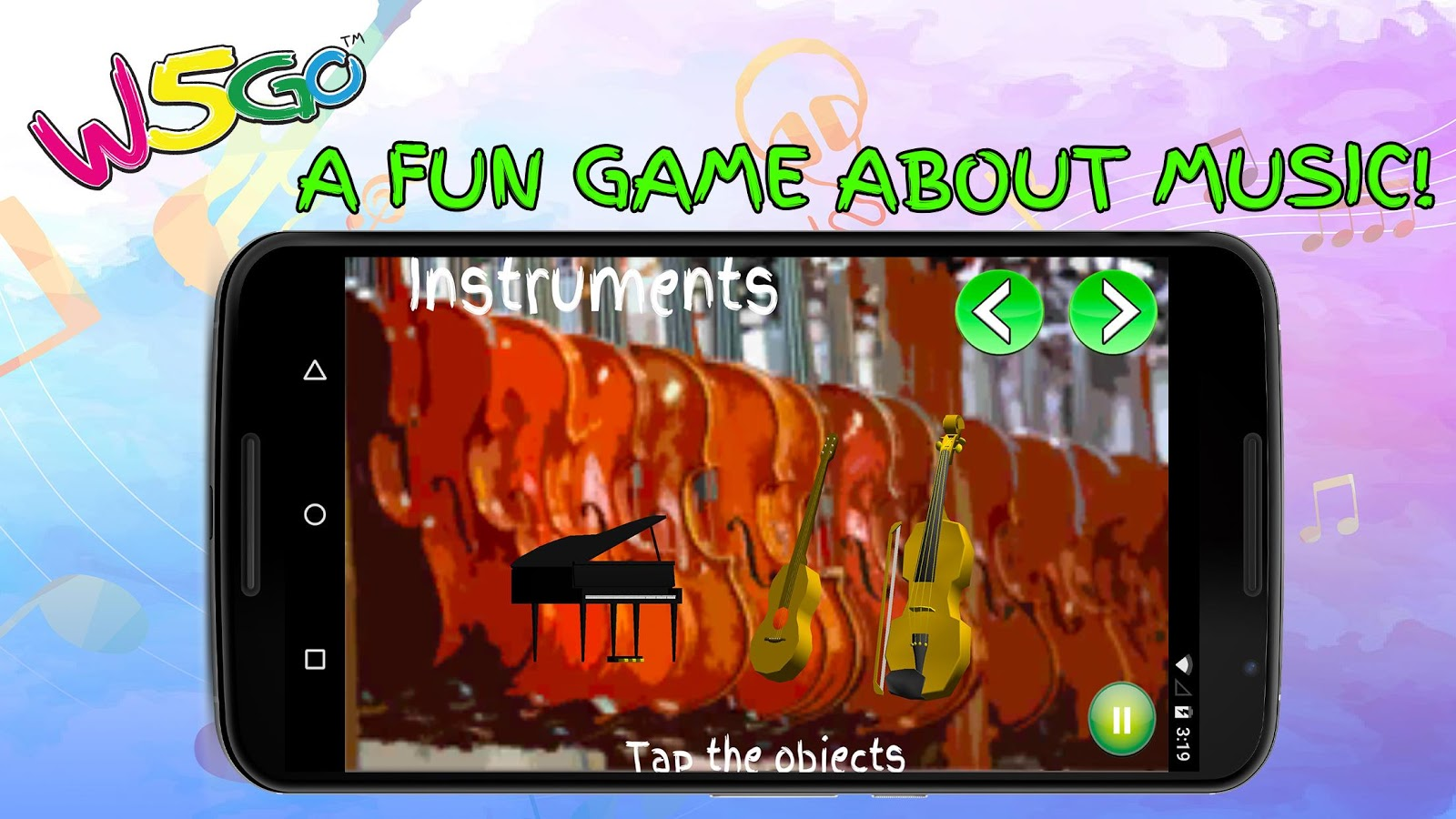 Music & Musical Instruments for Children- screenshot