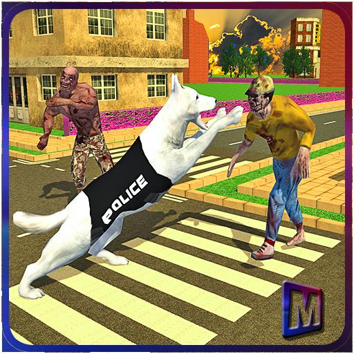 模拟の死んだゾンビVS警察犬 LOGO-記事Game
