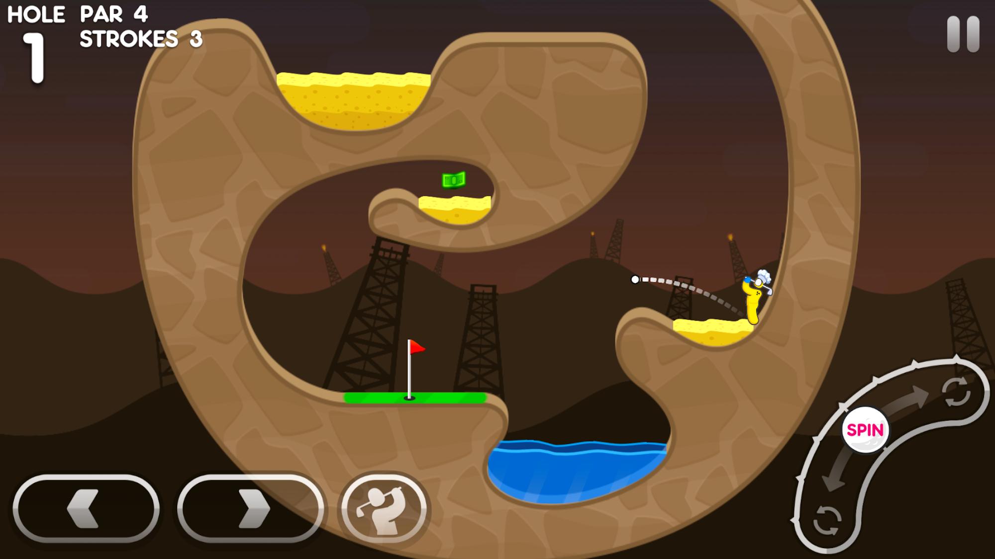 Super Stickman Golf 3 screenshot #5