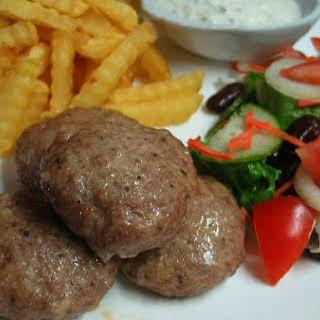 Frikadellen German Meat Patties.