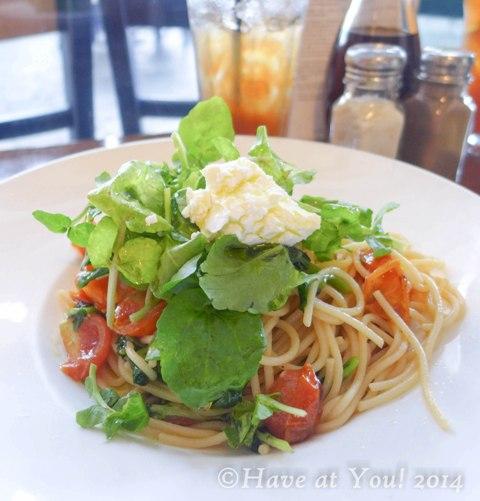 watercress pasta