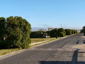 Photo: Kamp aan die noordelike kant van die windbreke.