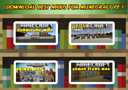 Addons Mods For Minecraft PE Apps On Google Play - Minecraft spiele mods