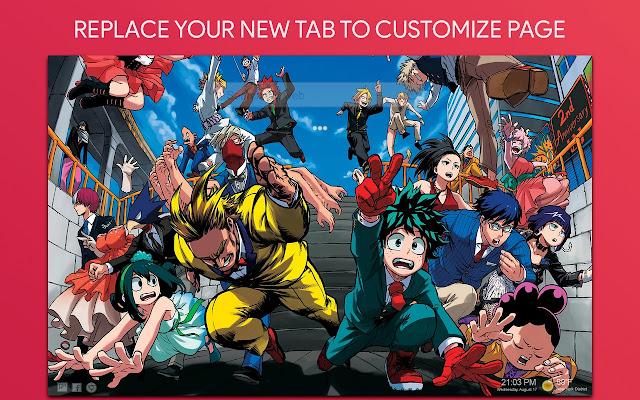 Boku No Hero Academia Wallpaper HD New Tab