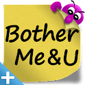 BotherMe&U Reminder Messenger+ icon