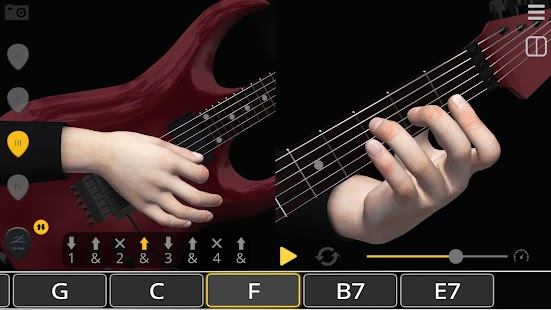 Basic Guitar Chords 3D- screenshot thumbnail