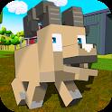 Blocky Farm Sheep Simulator icon