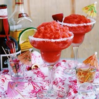 Strawberry Margarita Granita