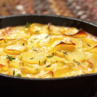 Old-Fashioned Scalloped Potatoes Recipe | Epicurious.Com Recipe