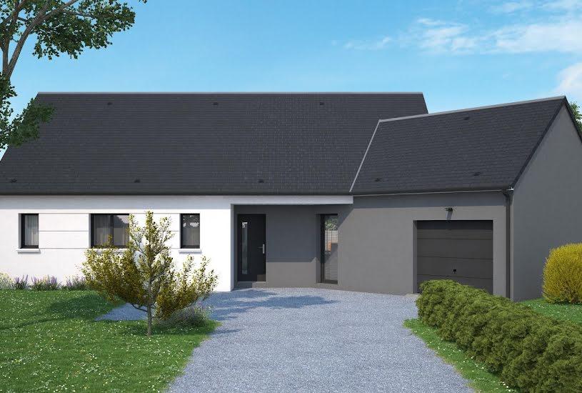Vente Terrain + Maison - Terrain : 1108m² - Maison : 100m² à Joué-lés-Tours (37300)