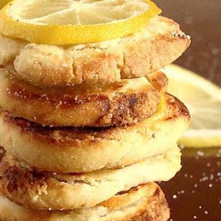 Shortbread Lemon Cookies