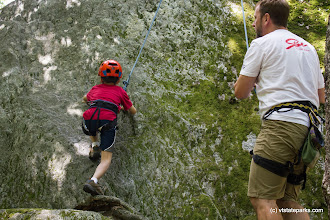 Photo: Rock Climing at Smugglers' Notch State Park by Taylor Drake