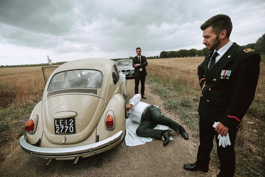 Vestuvių fotografas Alessandro Spagnolo (fotospagnolonovo). Nuotrauka 30.07.2019