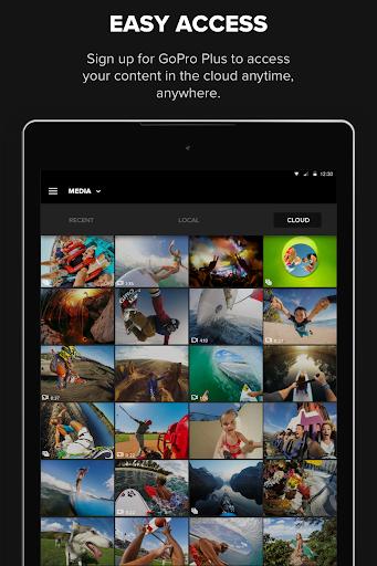 GoPro (formerly Capture) – Featuring QuikStories Screenshot