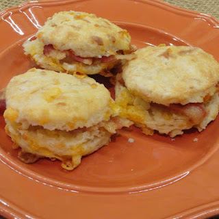 Bacon Biscuit Bites