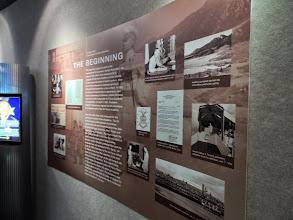 Photo: Inside the AFA museum.