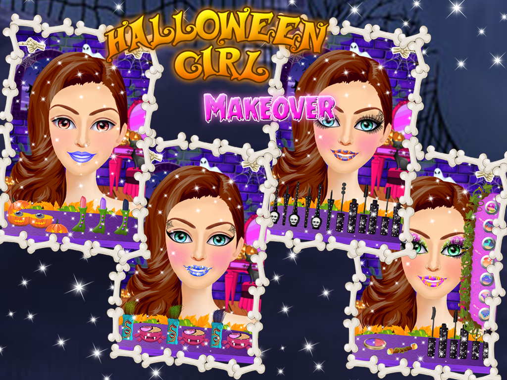 Halloween makeup salon - Android Apps on Google Play