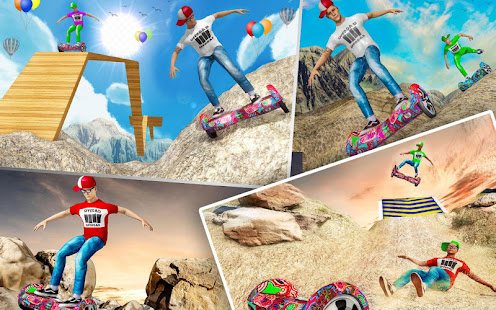 Off Road Hoverboard Stunts for PC-Windows 7,8,10 and Mac apk screenshot 14