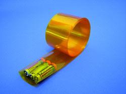 Krympslang 1m 70 mm bred genomskinlig