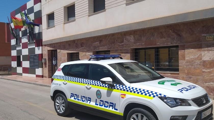 Jefatura de la Policía Local de Pulpí, en una imagen de archivo.