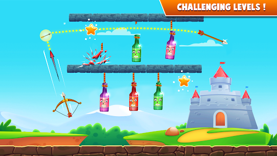 Archery Bottle Shoot MOD APK (Unlimited Money) 4