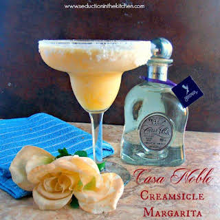Casa Noble Creamsicle Margarita #TequilaDay.