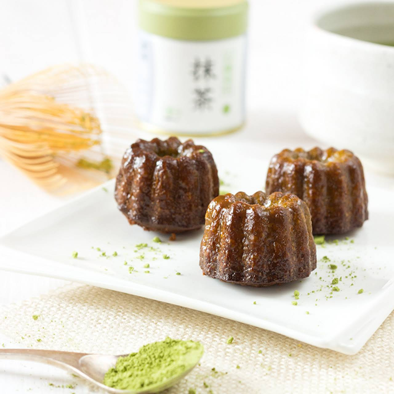Matcha Green Tea Cannelé