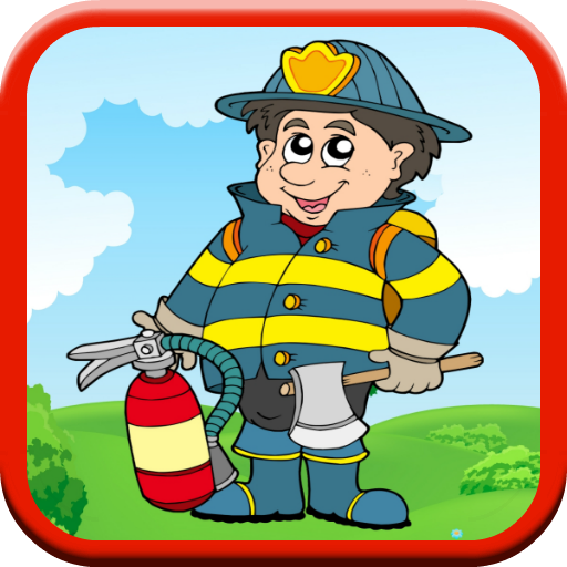 Firefighter Game: Kids - FREE