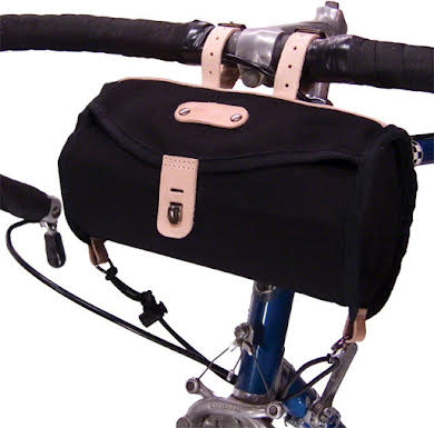 Banjo Brothers Minnehaha Canvas Barrel Saddle Bag - Black alternate image 0